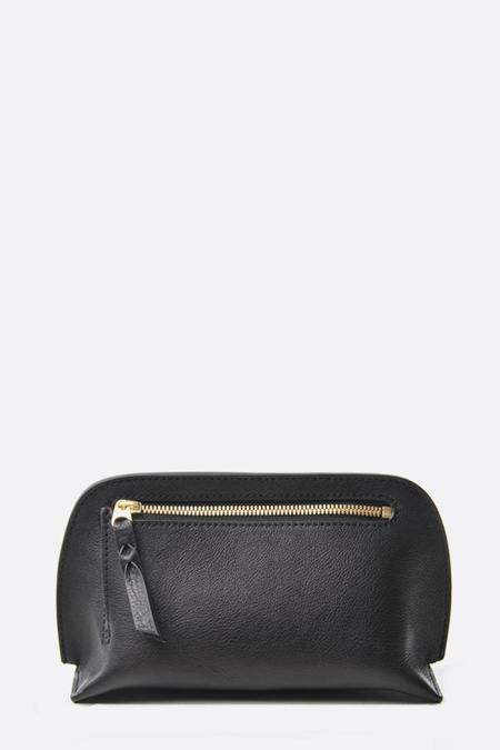 Lotuff Leather Mini Lois Pouch - Black/Red