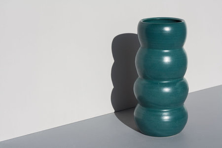 YYY Tall Puff Vase - Emerald