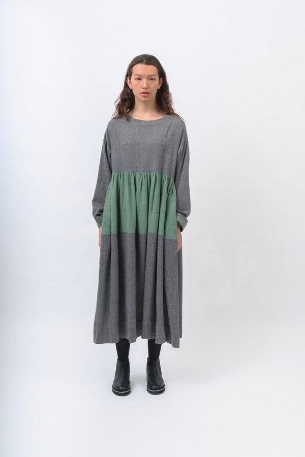Eka Winterfell Dress - Green/Grey