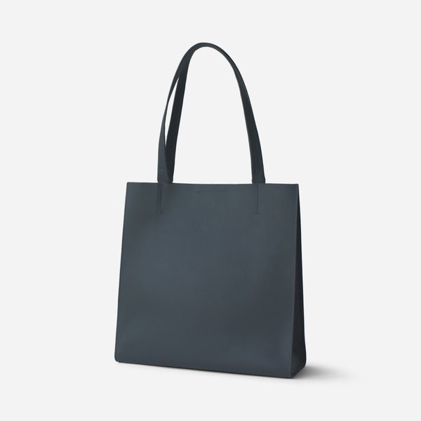 Minor History Structured Tote - Grey