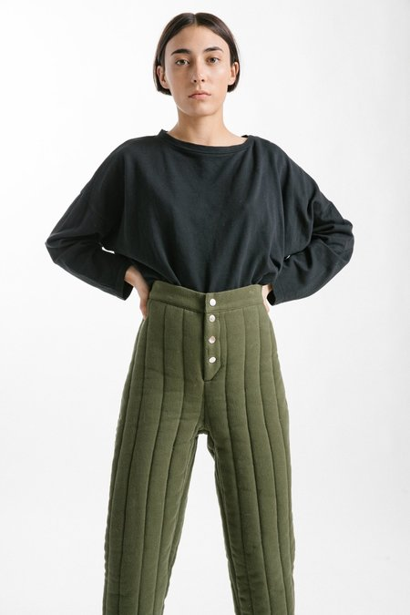 Kordal Quilted Riley Pants - Caper