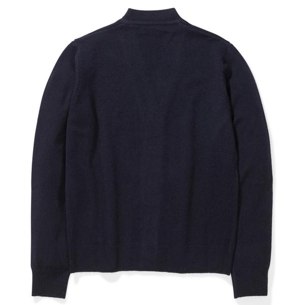 Norse Projects adam lambswool shirt - Dark Navy