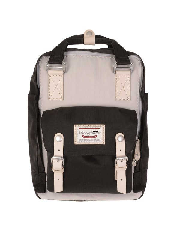 Doughnut Macaroon Backpack - Ivory/Expresso