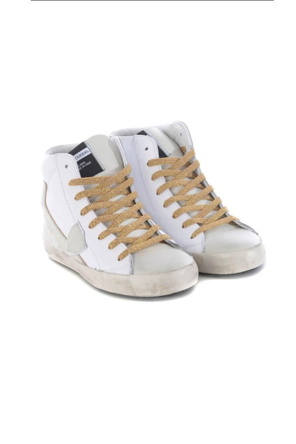 Philippe Model Paris High Top Sneaker - White