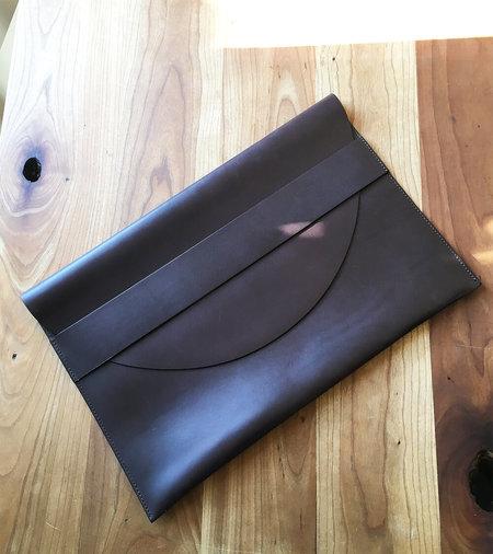 Sara Barner Laptop Case - Dark Brown