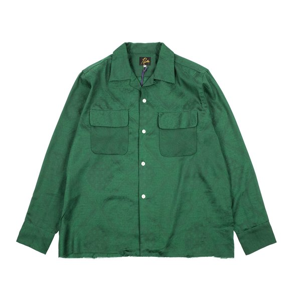 Needles Cut Off Bottom Classic Paisley Shirt   Green by Garmentory