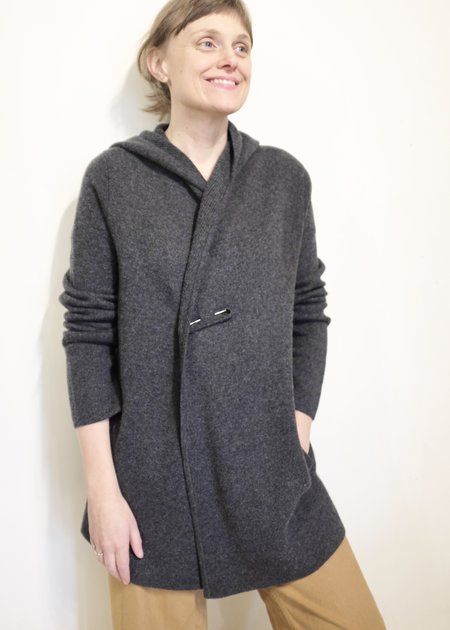 Margaret O'Leary St. Adela Jacket - Charcoal