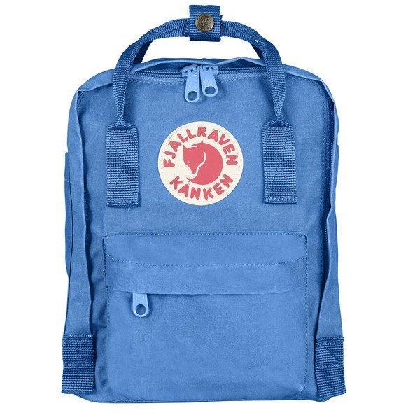 Kids Fjallraven Kanken Mini Backpack - UN Blue