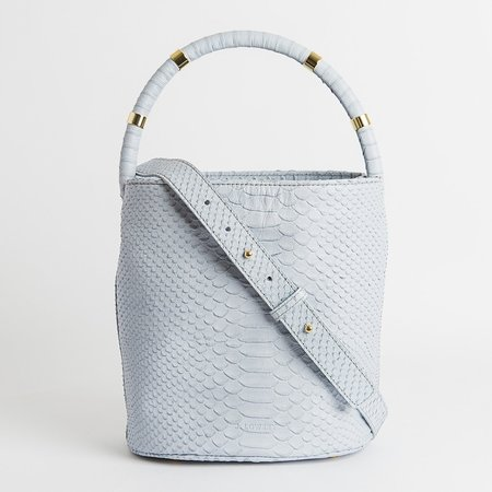 J. Lowery Max BAG - Dove Blue Python