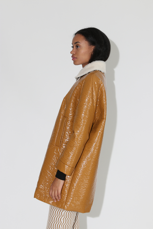 Rachel Comey Jaunt Coat - Turmeric Solaris