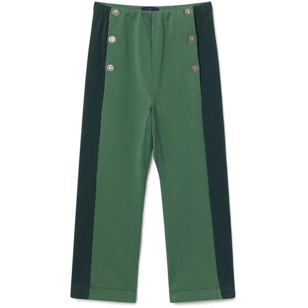 KIDS The Animals Observatory magpie pants - green