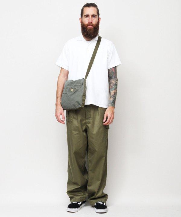Bedwin & The Heartbreakers Raven 10/L Belgian Cargo Pants - Army Green