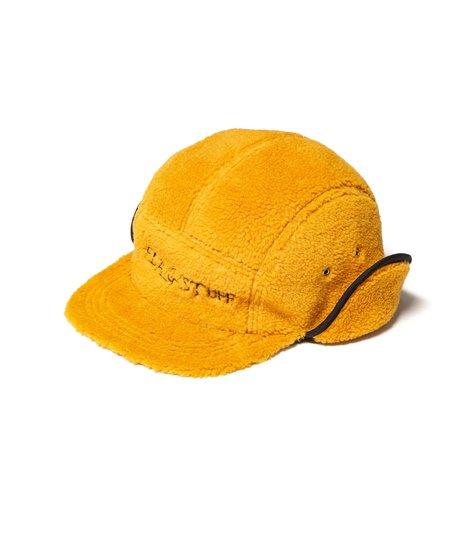 Flagstuff Fleece Camp Hat - Mustard Brown