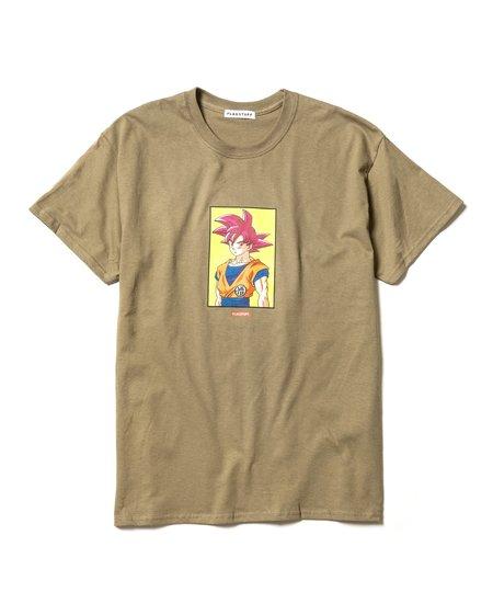 Flagstuff Goku Tee - Olive