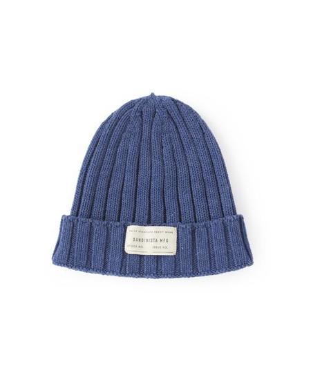 Sandinista MFG Daily Cotton Rib Knit Cap - Indigo Blue