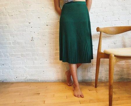 Catherine Andre Skirt - Emerald Green