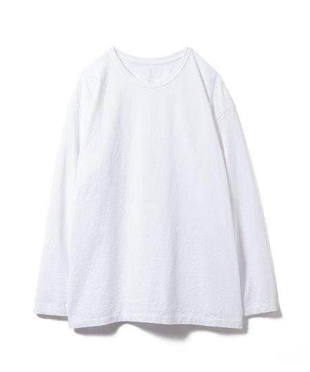 Sandinista MFG Side Slit Long Sleeve - White