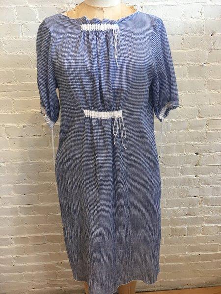 AVN Dress and Slip - Blue Gingham