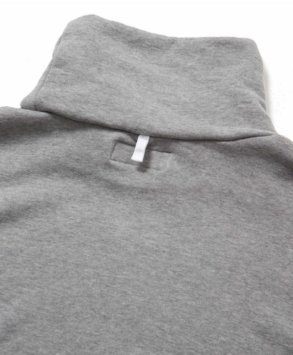 Sandinista MFG Turtleneck Sweat Shirt - Heather Gray