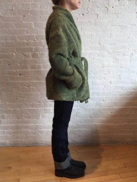 Samuji Short Bon Coat - Green
