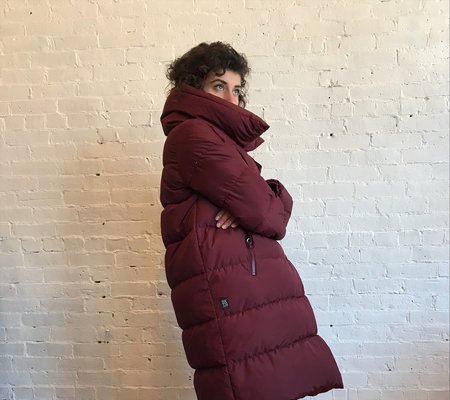 Bacon Big Puffa Jacket - Plum