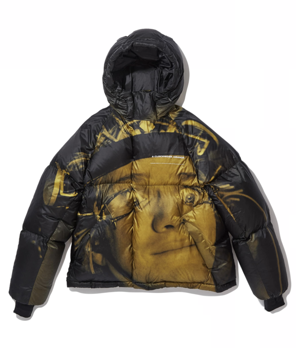 "UNDERCOVER ""UCX4205-1"" Down Jacket - black/yellow"