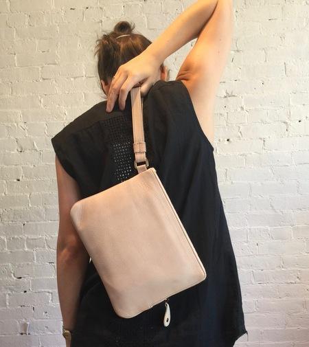 "Lumi Amanda 9"" Leather Tablet Pouch - Peach"