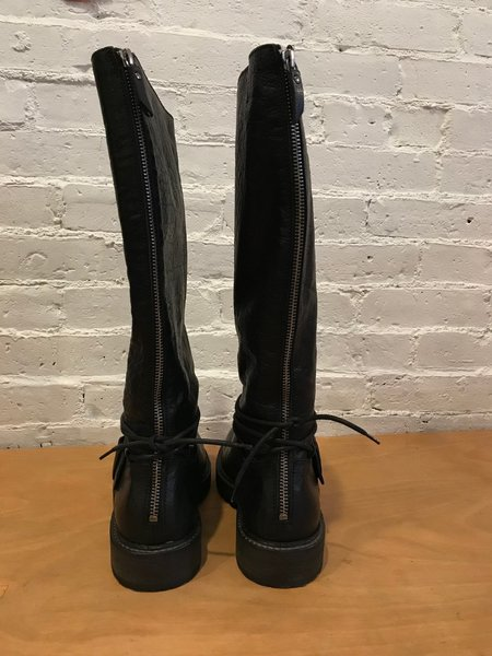 O.X.S. Leather Boot - Black