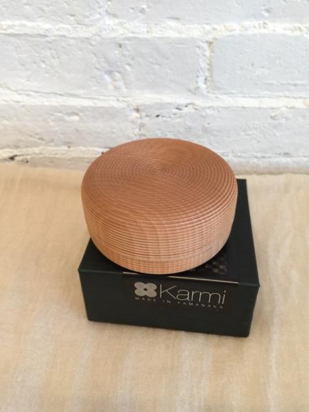 Karmi Tea Canister - Natural Wood
