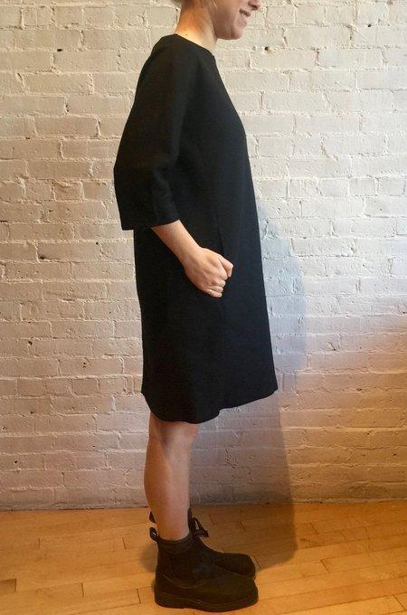 European Culture Textured Dress