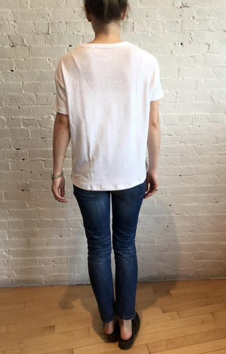 Majestic Filatures French Terry Pocket Tee - White