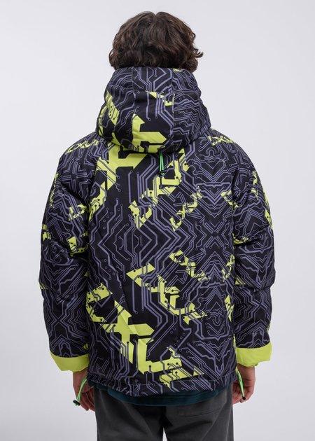 LXVI Logo Jacket - Black/Lime