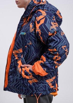 LXVI Logo Jacket - blue/orange