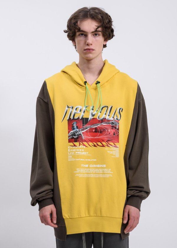 LXVI Reconstructed Hoodie - Yellow