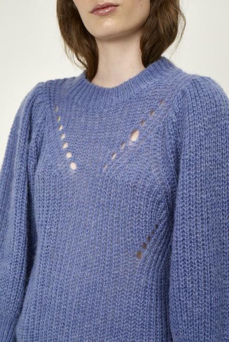 Just Female Marlin Knit - cornflower blue