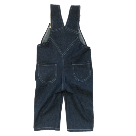 Kids Hey Gang Overalls - Dark Denim