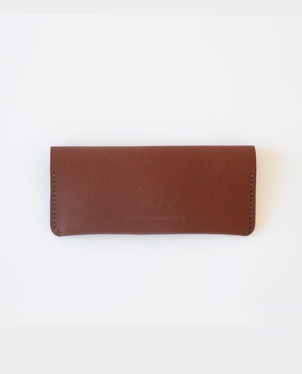 Foxtrot Supply Co. Long Wallet - Cognac