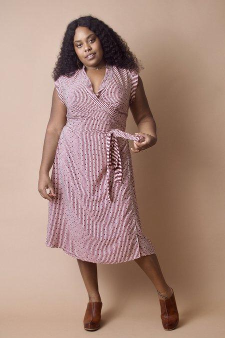 Altar Houseline Wrap Dress