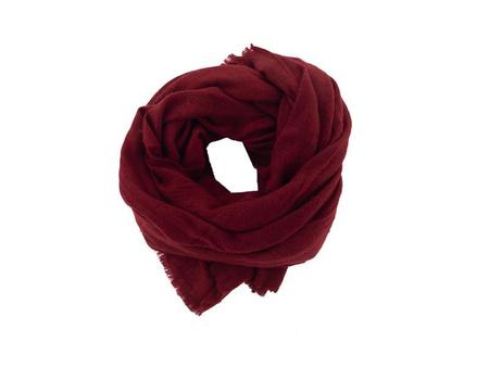 Foxtail Goods Cashmere Scarf - Pomegranate