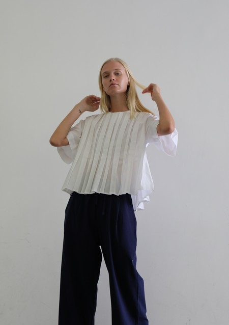 KOWTOW LINE TOP - WHITE