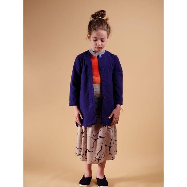 Kids Wolf & Rita Luisa Coat - Blue