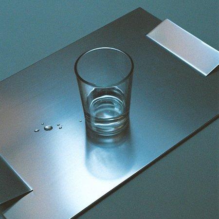 curated by. Aluminium Tray