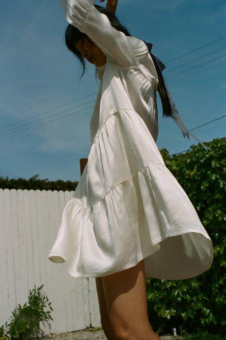 Lacausa Iris Mini Dress - Panna Cotta