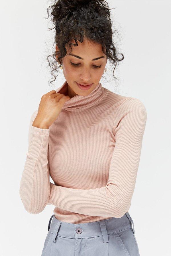 Lacausa Sweater Rib Turtleneck - Slipper