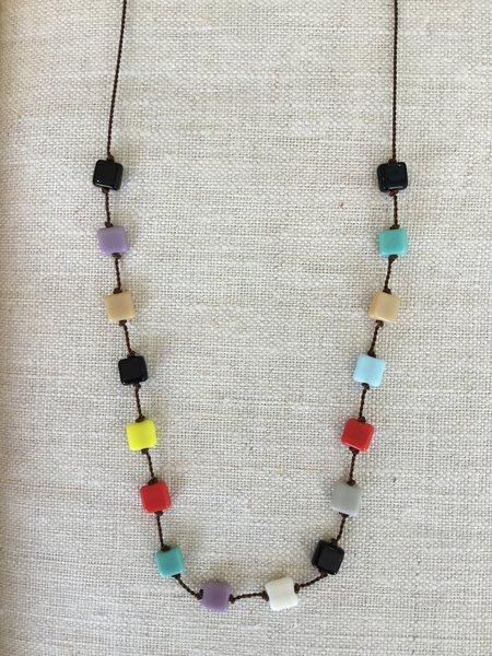 I. Ronni Kappos Multi Square Necklaces