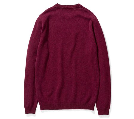 Norse Projects Sigfred Lambswool - Mulberry Red