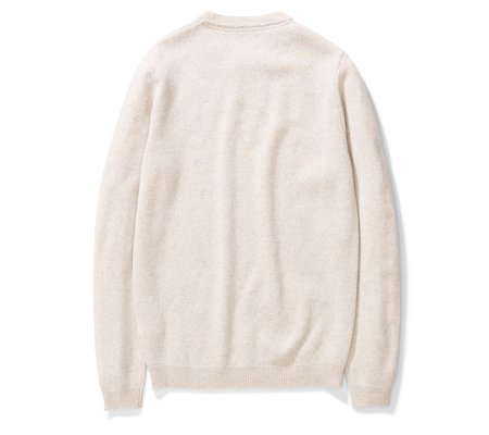 Norse Projects Sigfred Lambswool - Oatmeal Melange
