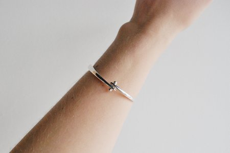 M. Hisae Isa Cuff - Sterling Silver