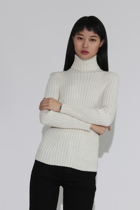 Shaina Mote Isla Turtleneck Pullover - Crema