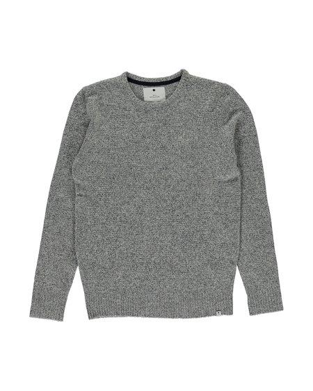 RVLT 6513 Knitted Sweater - Navy Melange